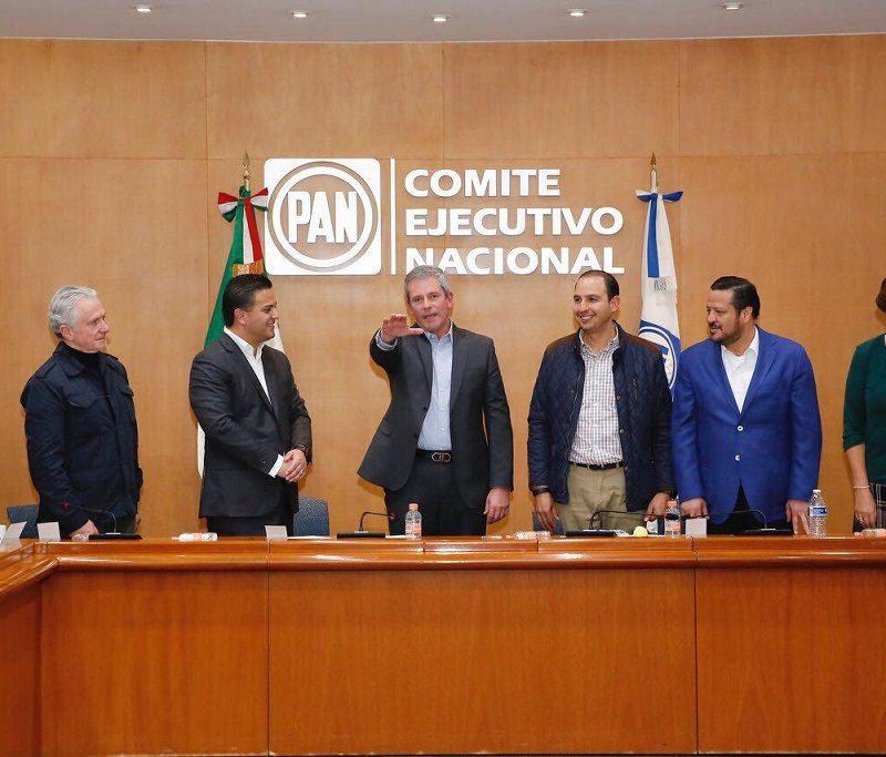 Marcelo Torres Cofiño toma protesta como Secretario General del CEN del PAN