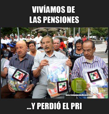 Meme_Columnas_de_Mexico_Pensiones_PRI_Fox_Salinas_de_Gortari_Calderon